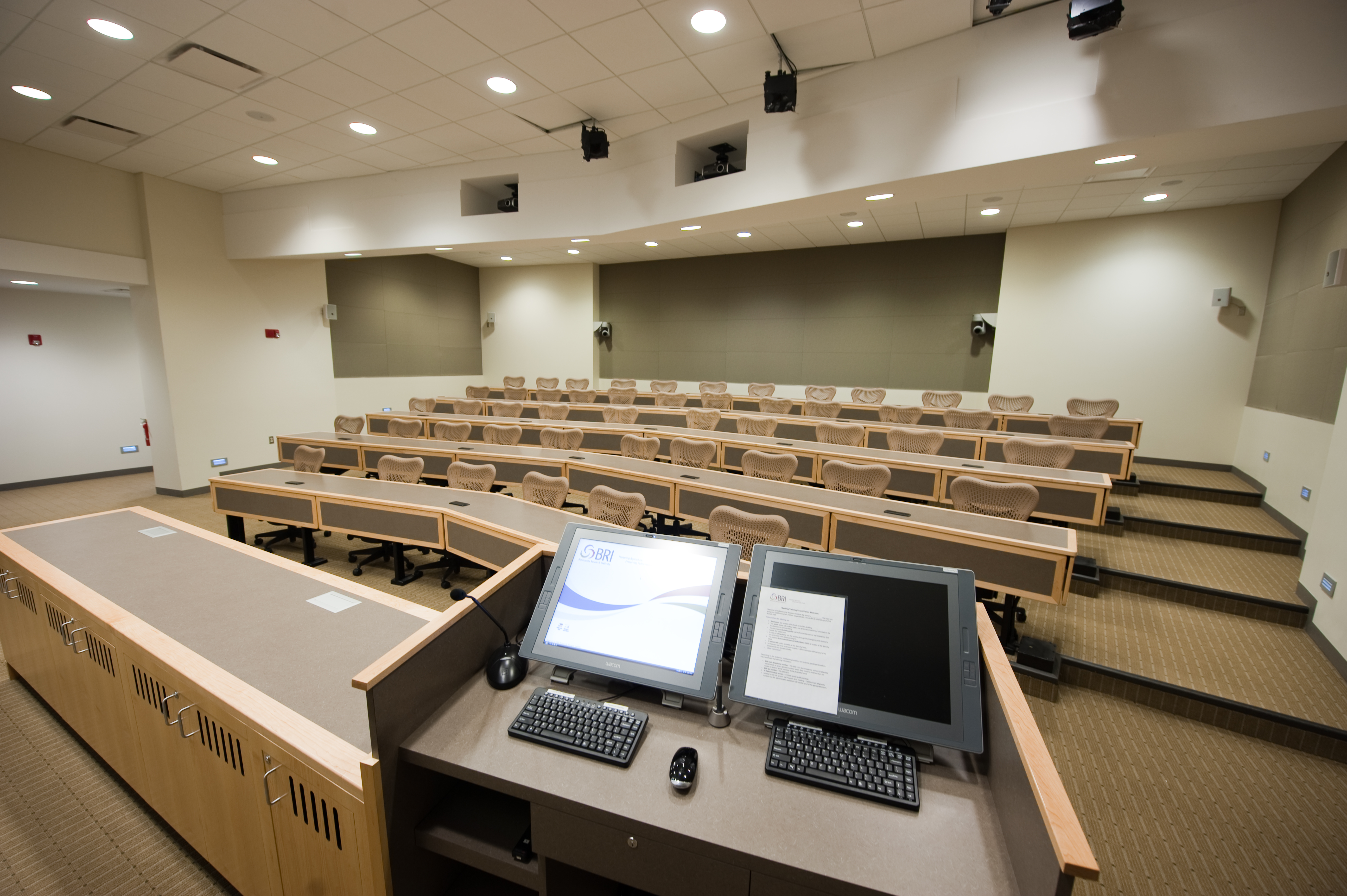 lecture hall photo