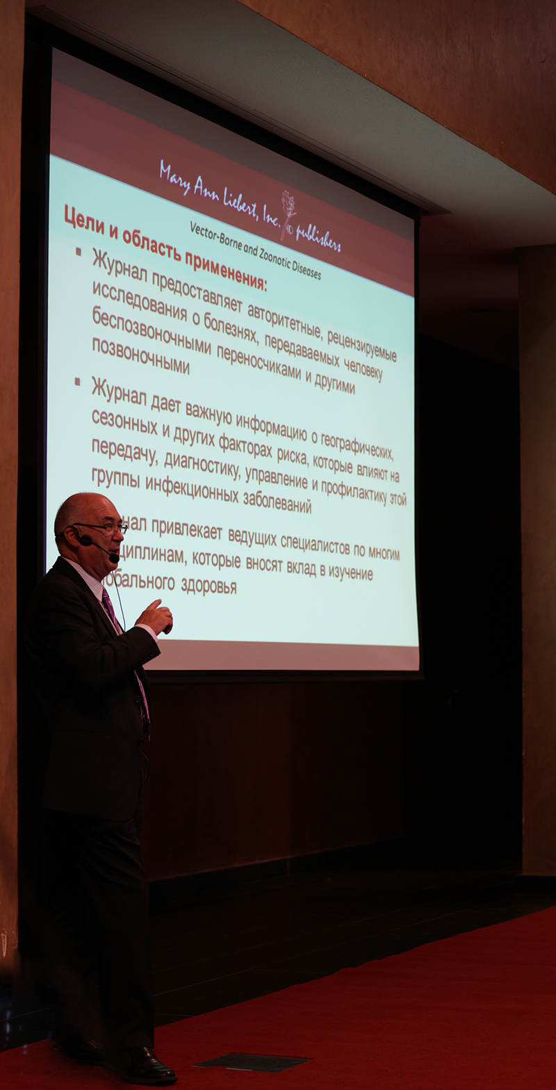 Higgs presents at CBEP Ukraine One Health Symposium