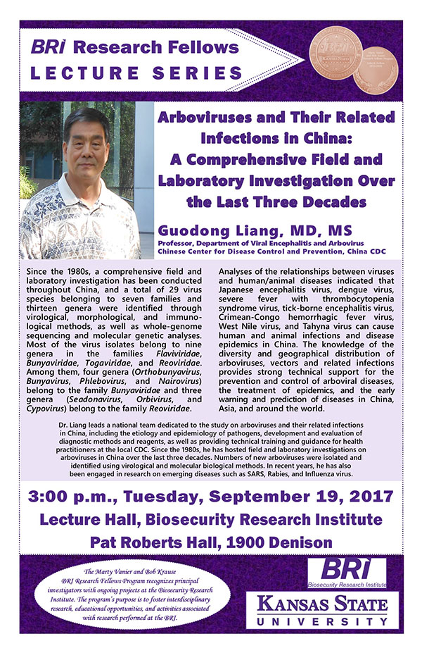 Liang BRI Research Fellows Lecture